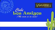 Cartão Azul Clube Los Amigos Guacamole