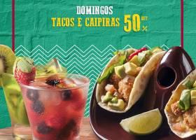 Domingos-Tacos e Caipiras