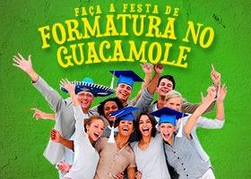 Festa de formatura é no Guaca!