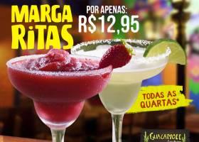 Quarta Margaritas por R$12,95