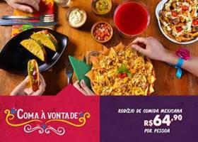 Rodízio  Mexicano R$64,90