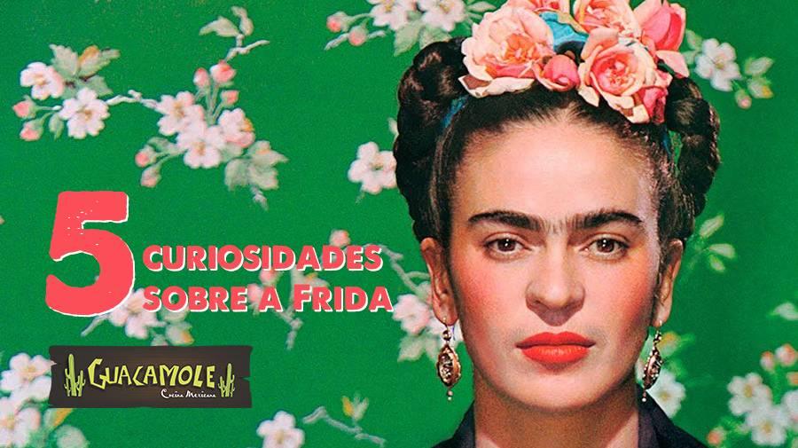 Cinco curiosidades sobre Frida Kahlo