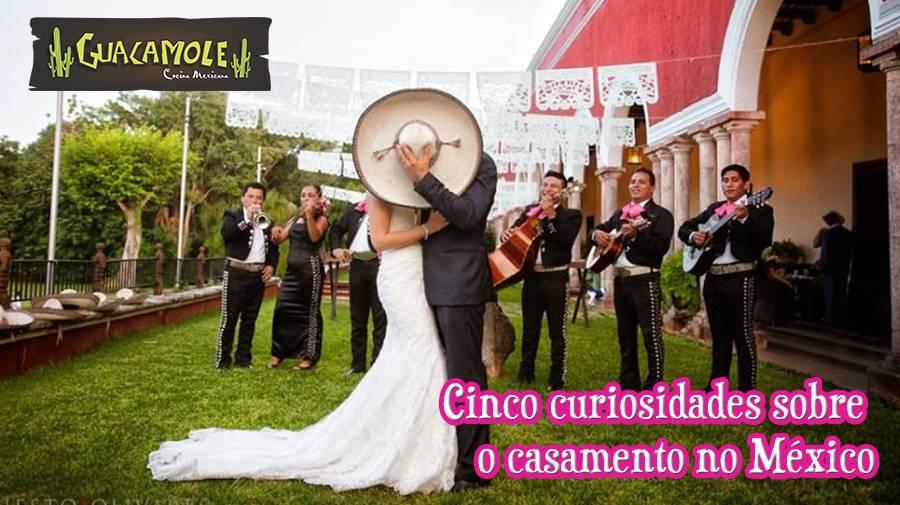 Cinco curiosidades sobre o casamento no México