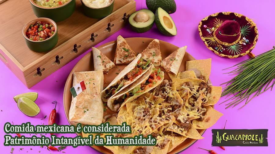 Comida mexicana é considerada Patrimônio Intangível da Humanidade