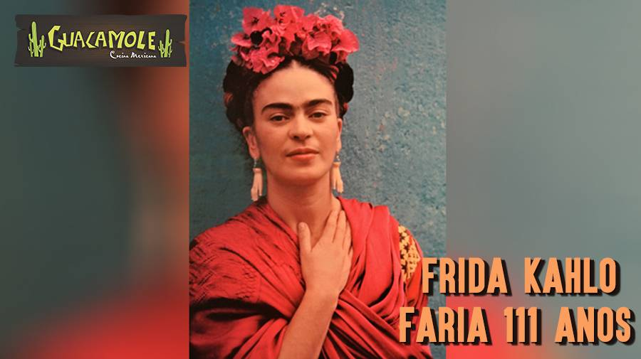 Frida Kahlo faria 111 anos nesta sexta-feira