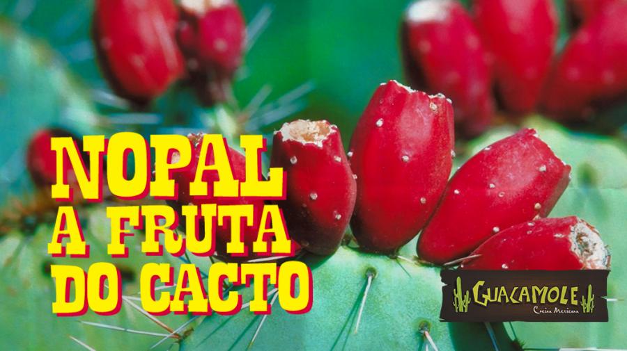 Nopal, a fruta comestível do cacto